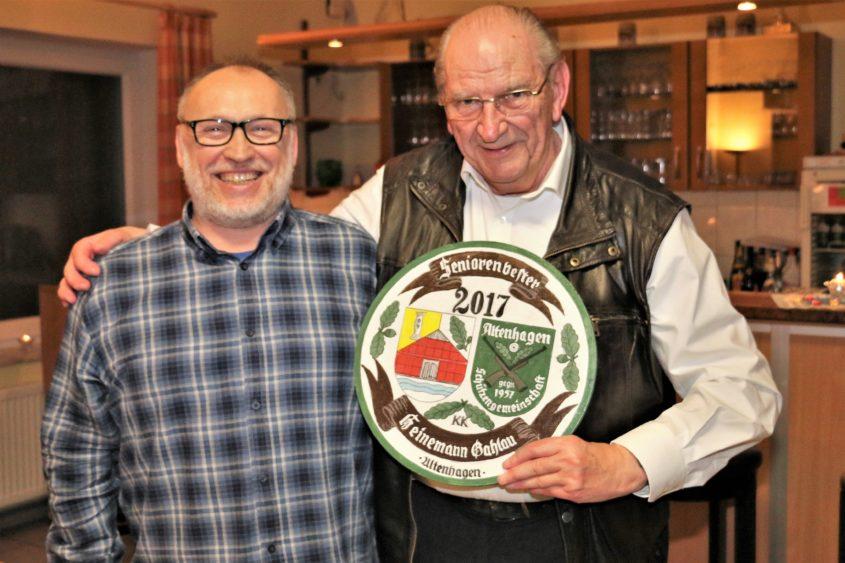 Ein festliches Essen zum 2. Advent 2017 im Schießsportheim der Schützengemeinschaft Altenhagen: Das war der Jahresabschluss der Altenhägener Seniorenschützen – auch dieses Jahr zusammen mit...